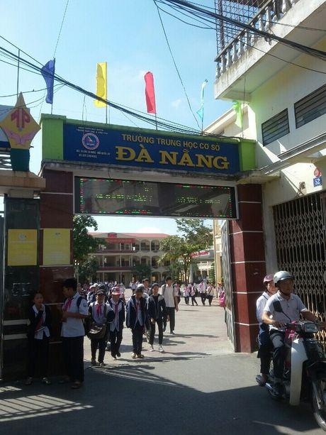 Truong THCS Da Nang (Ngo Quyen, Hai Phong): Bat cap trong van de day them - hoc them? - Anh 2
