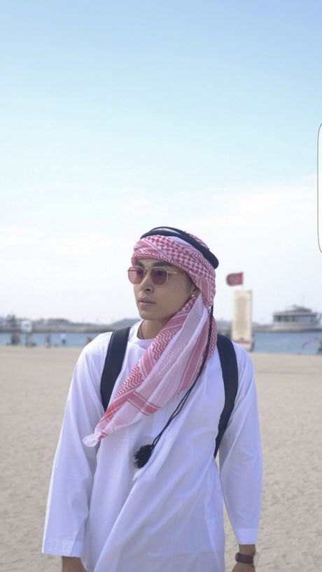 'Soai ca' Jun Pham 'xi tin' het co tai Dubai - Anh 10