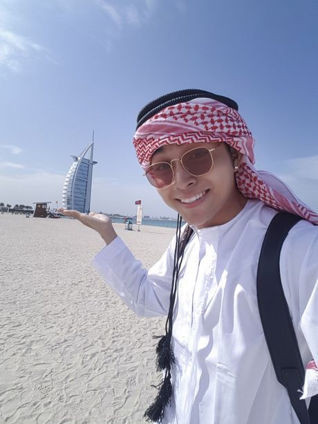 'Soai ca' Jun Pham 'xi tin' het co tai Dubai - Anh 7