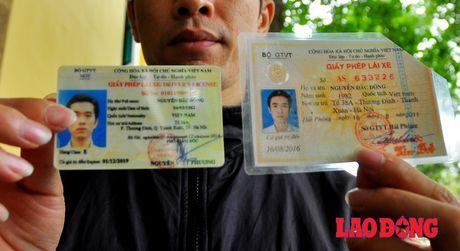 Doi giay phep lai xe: Bo GTVT no loi xin loi! - Anh 1