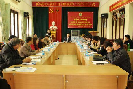 CD cac KCN tinh Ninh Binh: Cong bo ket qua khao sat nhu cau thiet che van hoa cong nhan - Anh 1