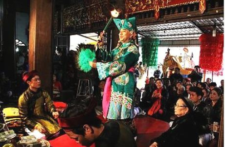 Thuc hanh Tin nguong tho Mau Tam phu tro thanh Di san van hoa phi vat the dai dien cua nhan loai - Anh 1