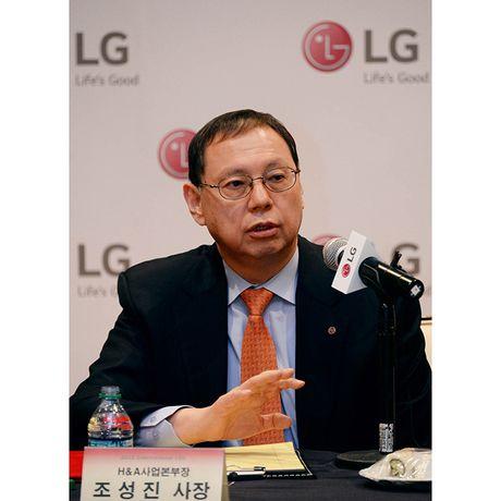 LG co CEO moi la cuu Giam doc mang Thiet bi gia dung - Anh 1