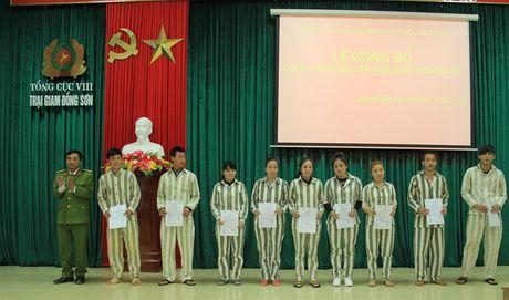 Dac xa 30 pham nhan tai Trai giam Dong Son - Anh 1
