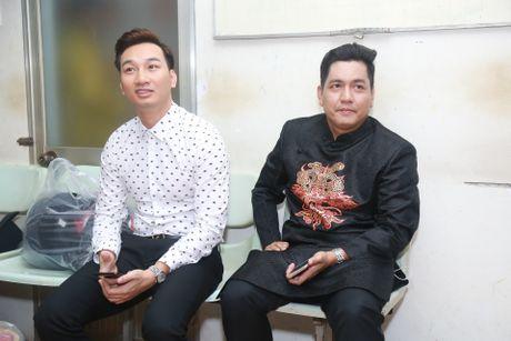 Truong Giang treu dua Nha Phuong trong hau truong - Anh 4