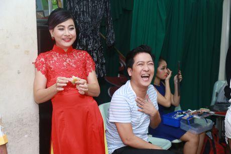 Truong Giang treu dua Nha Phuong trong hau truong - Anh 5