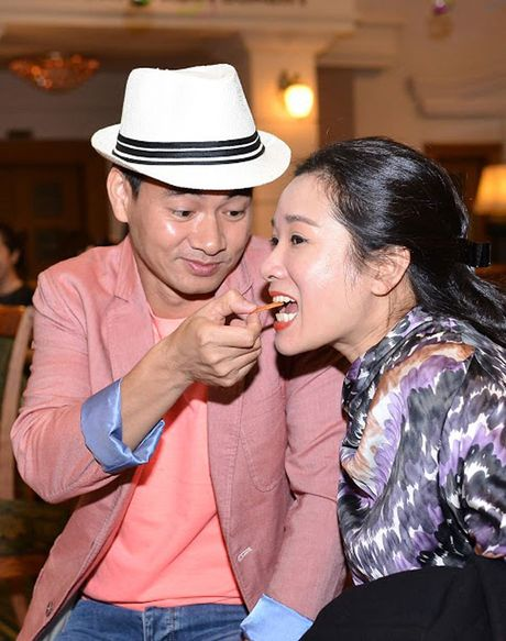 Xuan Bac chi mat Cu Trong Xoay, dut banh cho Thanh Thanh Hien - Anh 4