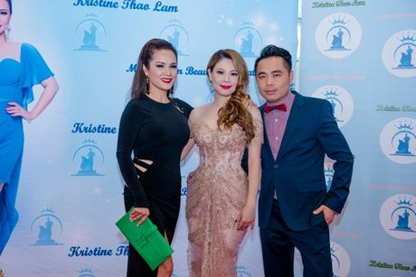 Thanh Thao long lay lam giam khao cuoc thi hoa hau - Anh 3