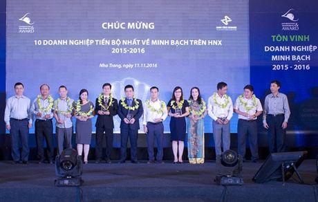 NIFERCO – TOP 10 doanh nghiep tien bo nhat trong cong bo thong tin - Anh 1