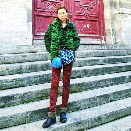 Chon do du lich mua lanh phong cach nhu fashionista - Anh 11