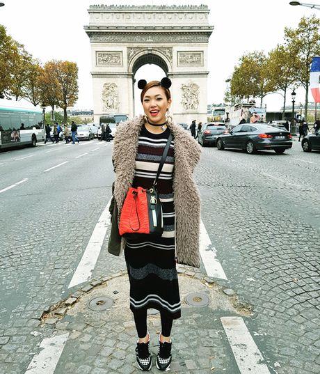 Chon do du lich mua lanh phong cach nhu fashionista - Anh 8