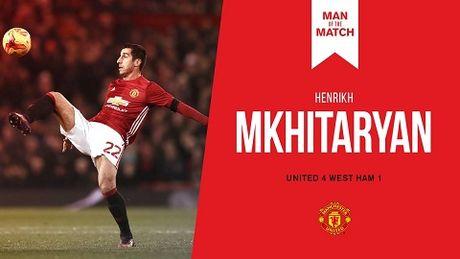 DIEM NHAN Man United 4-1 West Ham: Mourinho khong the loai bo Mkhitaryan. Hang cong rat manh - Anh 5