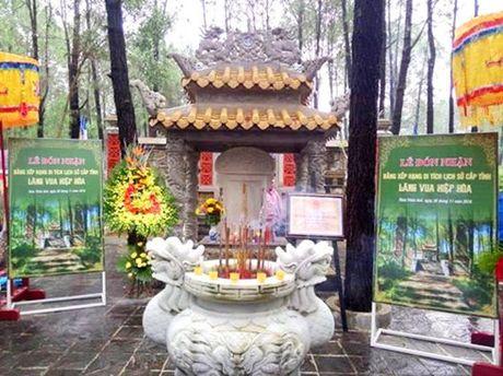 Lang vua Hiep Hoa duoc cong nhan di tich lich su - Anh 1