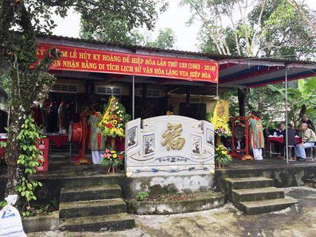 Lang vua Hiep Hoa duoc cong nhan di tich lich su - Anh 3