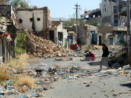Dac phai vien LHQ gap Tong thong Yemen de ban ve cham dut xung dot - Anh 1