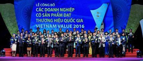 Eurowindow tiep tuc nhan Thuong hieu Quoc gia 2016 - Anh 2
