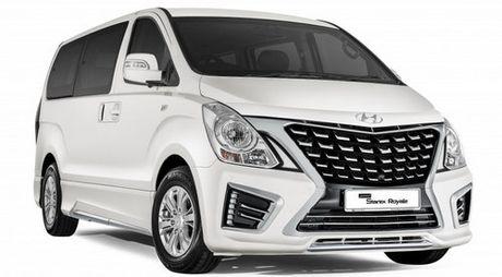 Hyundai Starex 2017: Sang trong va hien dai hon - Anh 1