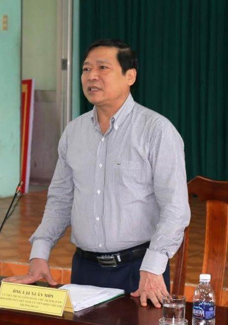 Chu tich T.U Hoi NDVN Lai Xuan Mon: 'Khong de nong dan bi o ep…' - Anh 1