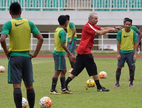 Indonesia chuan bi cho tran thuy chien voi Viet Nam o ban ket AFF Cup - Anh 1