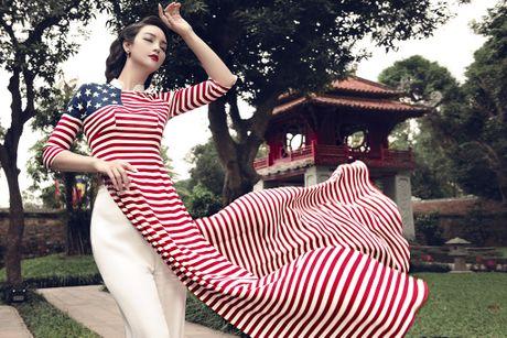 Mai Thu Huyen 'mang' the gioi vao ta ao dai Viet - Anh 10