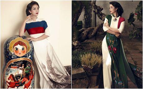 Mai Thu Huyen 'mang' the gioi vao ta ao dai Viet - Anh 2
