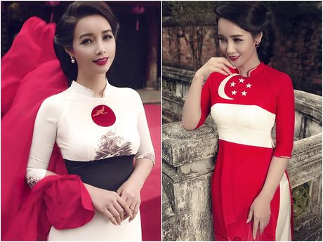 Mai Thu Huyen 'mang' the gioi vao ta ao dai Viet - Anh 3