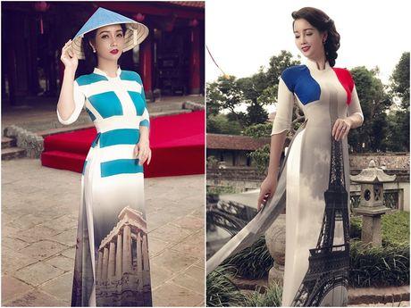 Mai Thu Huyen 'mang' the gioi vao ta ao dai Viet - Anh 4