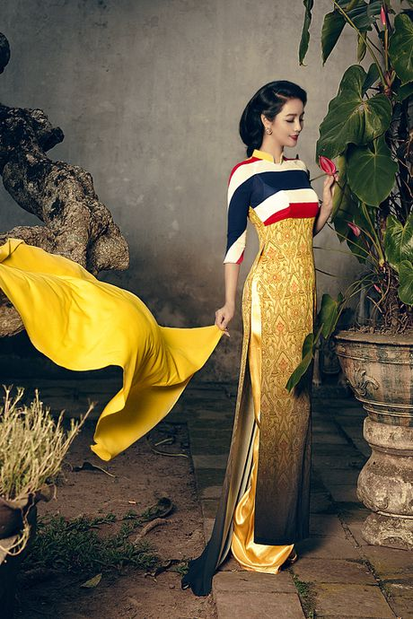 Mai Thu Huyen 'mang' the gioi vao ta ao dai Viet - Anh 6