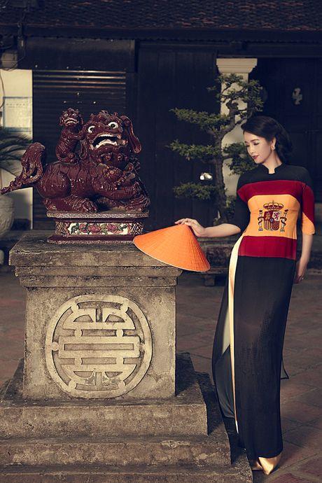 Mai Thu Huyen 'mang' the gioi vao ta ao dai Viet - Anh 7