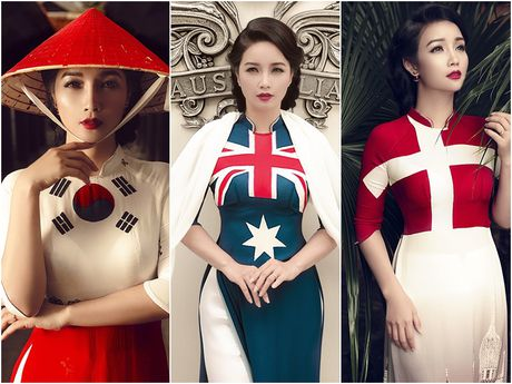 Mai Thu Huyen 'mang' the gioi vao ta ao dai Viet - Anh 9