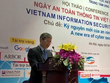Khai mac ngay An toan Thong tin Viet Nam lan thu 9 - Anh 1