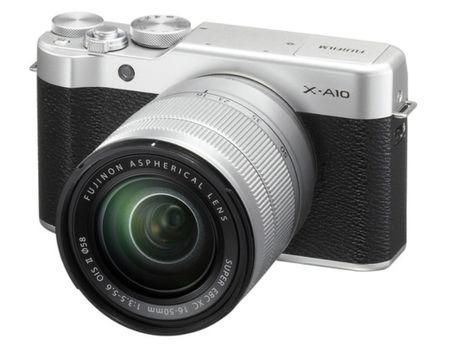Ngam may anh Fujifilm X-A10 vua ra mat - Anh 1