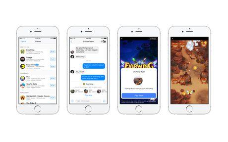 Huong dan choi game ngay tren cong cu chat Facebook Messenger - Anh 1