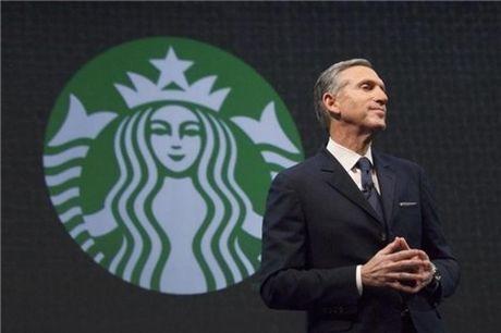 CEO Starbucks tu chuc, nha dau tu lo lang - Anh 1