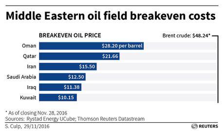 Thoa thuan OPEC khong the cuu thi truong dau mo - Anh 1