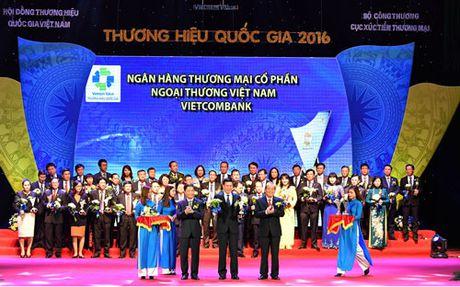 Vietcombank dat Thuong hieu Quoc gia 5 nam lien tiep - Anh 1