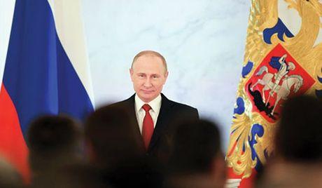 Tong thong Putin: Khong chap nhan ap luc tu nhung quoc gia khac! - Anh 1