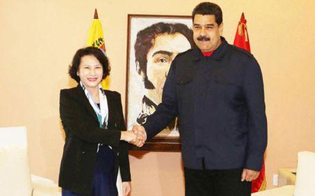 Venezuela muon tang cuong hop tac toan dien voi Viet Nam - Anh 1