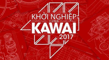 Phat dong cuoc thi 'Khoi nghiep cung Kawai 2017' - Anh 1
