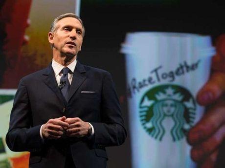 CEO Starbucks tu chuc - Anh 1