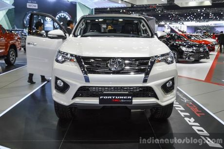 Ngam ban do cua Toyota Fortuner the he moi - Anh 4