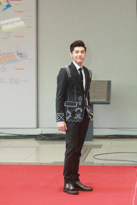 MAMA 2016: Noo Phuoc Thinh dep trai rang ngoi tren tham do - Anh 2