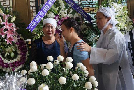 Con gai NSUT Quang Ly khoc nuc no ben linh cuu cha - Anh 1