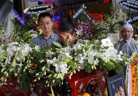 Con gai NSUT Quang Ly khoc nuc no ben linh cuu cha - Anh 2