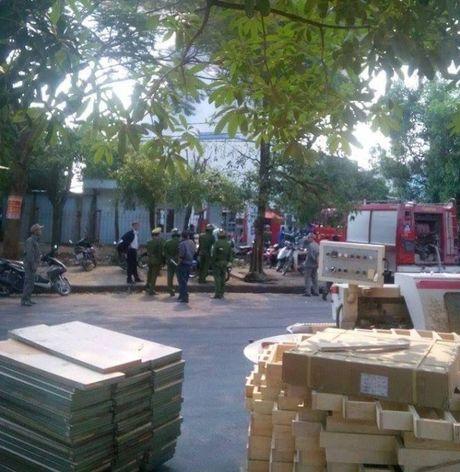 Ha Noi: Chay lon tai khu cong nghiep Ngoc Hoi - Anh 2