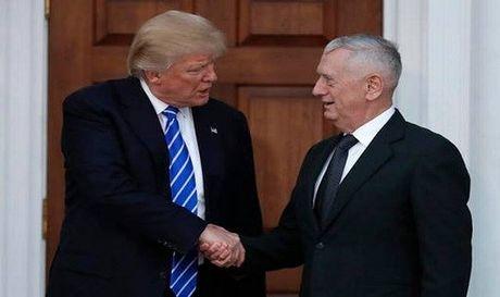 Ong Trump cong bo de cu bo truong quoc phong - Anh 1