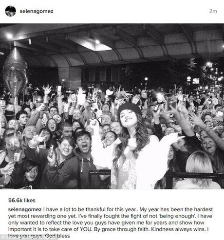 Selena Gomez chinh thuc tro thanh 'Nu hoang trieu likes cua Instagram' - Anh 1