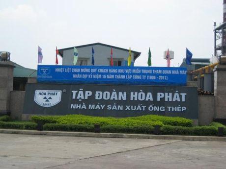 Hoa Phat can moc tieu thu 200.000 tan thep/thang - Anh 1