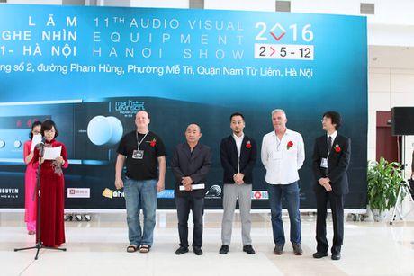 Khai mac trien lam AV Show 2016 lan 11 tai Ha Noi - Anh 1