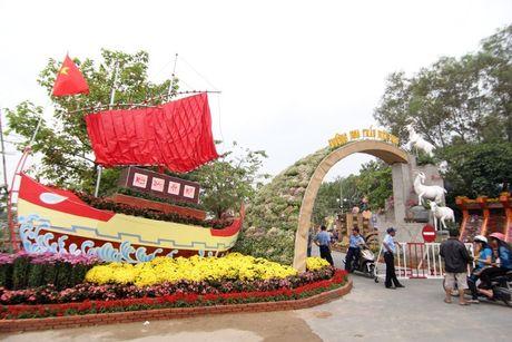 9,9 ti dong lam duong hoa Bien Hoa - Anh 1
